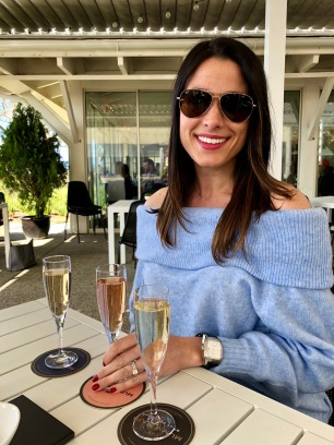 Bubbly at Mumm Napa